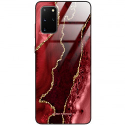 ETUI BLACK CASE GLASS NA TELEFON SAMSUNG GALAXY S20 PLUS ST_AGST-207