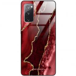 ETUI BLACK CASE GLASS NA TELEFON SAMSUNG GALAXY S20FE / S20 LITE ST_AGST-207