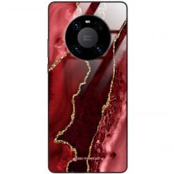 ETUI BLACK CASE GLASS NA TELEFON HUAWEI MATE 40 PRO PLUS ST_AGST-207