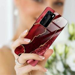 ETUI BLACK CASE GLASS NA TELEFON HUAWEI P40 PRO PLUS ST_AGST-207