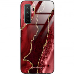 ETUI BLACK CASE GLASS NA TELEFON HUAWEI NOVA 7 SE ST_AGST-207