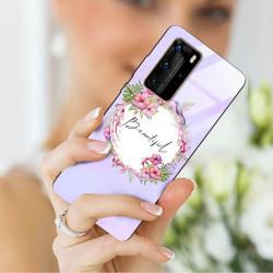 ETUI BLACK CASE GLASS NA TELEFON HUAWEI P40 PRO PLUS ST_SPRG-201