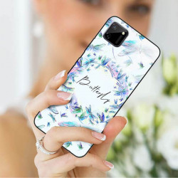 ETUI BLACK CASE GLASS NA TELEFON REALME REALME C11 ST_SPRG-203