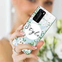 ETUI BLACK CASE GLASS NA TELEFON HUAWEI P40 PRO PLUS ST_SPRG-206