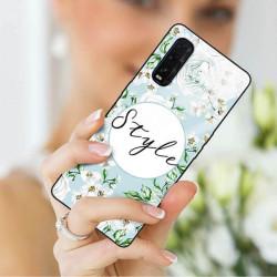 ETUI BLACK CASE GLASS NA TELEFON OPPO FIND X2 ST_SPRG-206