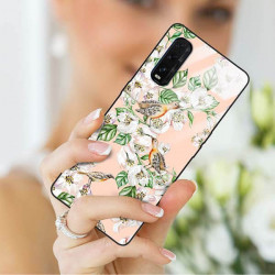 ETUI BLACK CASE GLASS NA TELEFON OPPO FIND X2 ST_SPRG-207