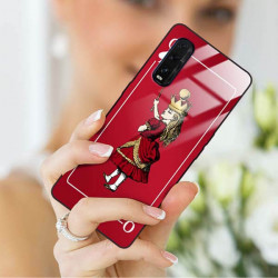 ETUI BLACK CASE GLASS NA TELEFON OPPO FIND X2 ST_QUEEN-OF-CARDS-200