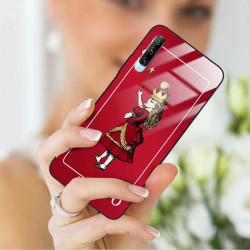 ETUI BLACK CASE GLASS NA TELEFON HUAWEI Y9S ST_QUEEN-OF-CARDS-200