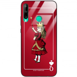 ETUI BLACK CASE GLASS NA TELEFON HUAWEI Y7P ST_QUEEN-OF-CARDS-200