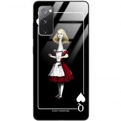 ETUI BLACK CASE GLASS NA TELEFON SAMSUNG GALAXY S20FE / S20 LITE ST_QUEEN-OF-CARDS-202