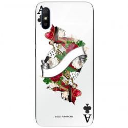ETUI BLACK CASE GLASS NA TELEFON XIAOMI REDMI 9A ST_QUEEN-OF-CARDS-203