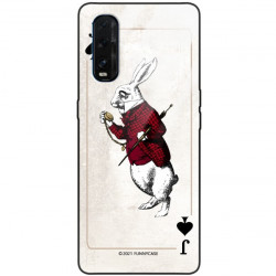 ETUI BLACK CASE GLASS NA TELEFON OPPO FIND X2 ST_QUEEN-OF-CARDS-204