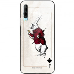 ETUI BLACK CASE GLASS NA TELEFON HUAWEI Y9S ST_QUEEN-OF-CARDS-204