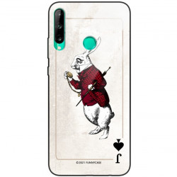 ETUI BLACK CASE GLASS NA TELEFON HUAWEI Y7P ST_QUEEN-OF-CARDS-204