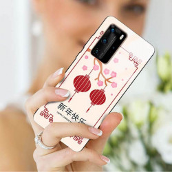 ETUI BLACK CASE GLASS NA TELEFON HUAWEI P40 PRO PLUS ST_CHINESE-ZODIAC-200