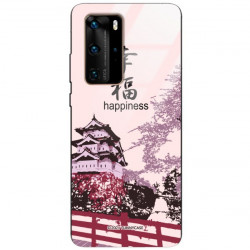 ETUI BLACK CASE GLASS NA TELEFON HUAWEI P40 PRO PLUS ST_CHINESE-ZODIAC-201