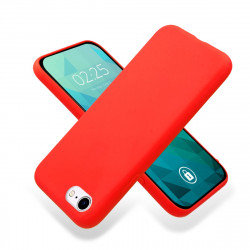 ETUI GUMA SMOOTH NA TELEFON APPLE IPHONE 7 / 8 CZERWONY