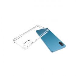 ETUI ANTI-SHOCK NA TELEFON SAMSUNG GALAXY A02 / M02 4G TRANSPARENT