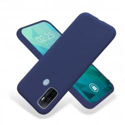 ETUI GUMA SMOOTH NA TELEFON OPPO A53 5G GRANATOWY