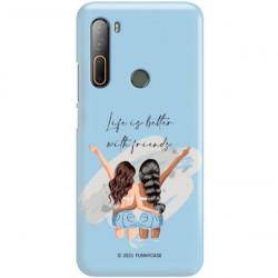 ETUI CLEAR NA TELEFON HTC DESIRE U20 5G ST_GRF-2021-1-106