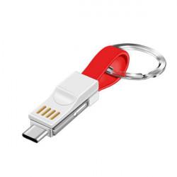 PRZEJŚCIE USB TYP C / LIGHTNING BIAŁY