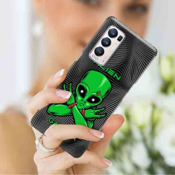 ETUI CLEAR NA TELEFON OPPO RENO 5 PRO PLUS 5G ST_ALIEN-2021-1-100