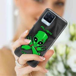 ETUI CLEAR NA TELEFON REALME REALME 8 5G / V13 5G ST_ALIEN-2021-1-100