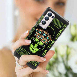 ETUI CLEAR NA TELEFON OPPO RENO 5 PRO PLUS 5G ST_ALIEN-2021-1-102
