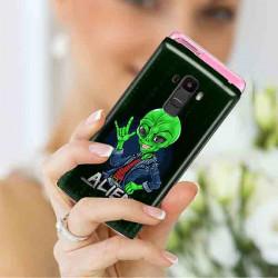 ETUI CLEAR NA TELEFON LG X STYLO 7 5G ST_ALIEN-2021-1-104