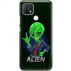 ETUI CLEAR NA TELEFON OPPO A15S ST_ALIEN-2021-1-104