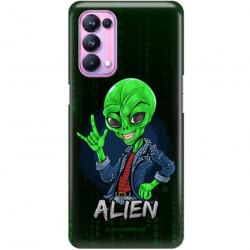ETUI CLEAR NA TELEFON OPPO RENO 5 PRO 5G ST_ALIEN-2021-1-104