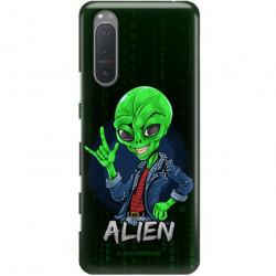 ETUI CLEAR NA TELEFON SONY XPERIA 5 II ST_ALIEN-2021-1-104