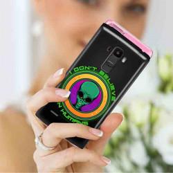 ETUI CLEAR NA TELEFON LG X STYLO 7 5G ST_ALIEN-2021-1-106