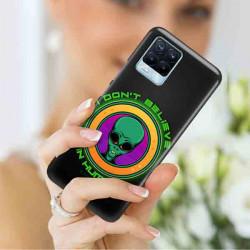 ETUI CLEAR NA TELEFON REALME REALME 8 5G / V13 5G ST_ALIEN-2021-1-106