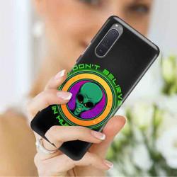 ETUI CLEAR NA TELEFON SONY XPERIA 5 II ST_ALIEN-2021-1-106