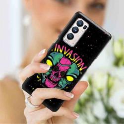 ETUI CLEAR NA TELEFON OPPO RENO 5 PRO PLUS 5G ST_ALIEN-2021-1-107