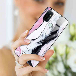 ETUI BLACK CASE GLASS NA TELEFON OPPO A33 ST_MARM-2021-3-100