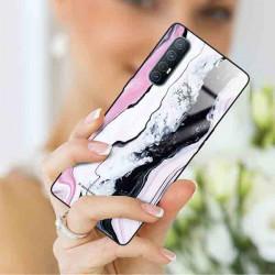 ETUI BLACK CASE GLASS NA TELEFON OPPO RENO 3 PRO ST_MARM-2021-3-100
