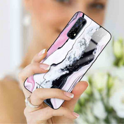 ETUI BLACK CASE GLASS NA TELEFON REALME REALME 7 ST_MARM-2021-3-100
