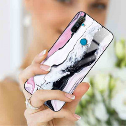 ETUI BLACK CASE GLASS NA TELEFON REALME REALME C3 ST_MARM-2021-3-100