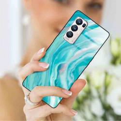 ETUI BLACK CASE GLASS NA TELEFON OPPO RENO 5 PRO PLUS ST_MARM-2021-3-103