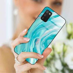 ETUI BLACK CASE GLASS NA TELEFON SAMSUNG GALAXY A02S ST_MARM-2021-3-103