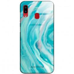 ETUI BLACK CASE GLASS NA TELEFON SAMSUNG GALAXY A20 / A30 ST_MARM-2021-3-103