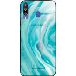 ETUI BLACK CASE GLASS NA TELEFON SAMSUNG GALAXY M30 ST_MARM-2021-3-103