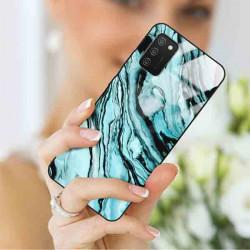 ETUI BLACK CASE GLASS NA TELEFON SAMSUNG GALAXY A02S ST_MARM-2021-3-104