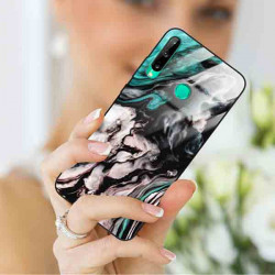 ETUI BLACK CASE GLASS NA TELEFON HUAWEI Y7P 2020 ST_MARM-2021-3-105