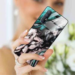 ETUI BLACK CASE GLASS NA TELEFON OPPO RENO 3 PRO ST_MARM-2021-3-105