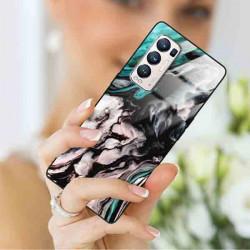 ETUI BLACK CASE GLASS NA TELEFON OPPO RENO 5 PRO PLUS ST_MARM-2021-3-105