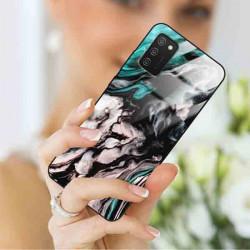 ETUI BLACK CASE GLASS NA TELEFON SAMSUNG GALAXY A02S ST_MARM-2021-3-105