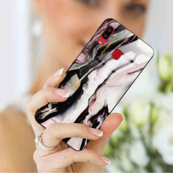 ETUI BLACK CASE GLASS NA TELEFON SAMSUNG GALAXY A20 / A30 ST_MARM-2021-3-106
